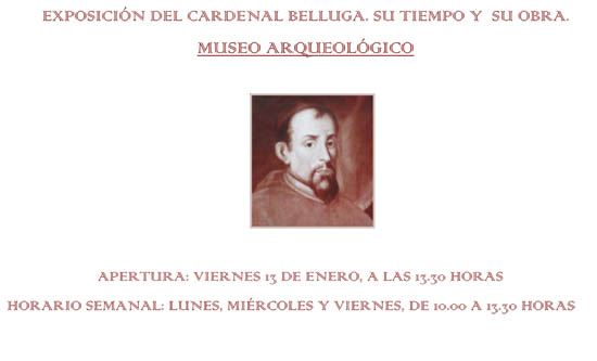Cardenal Belluga Exhibition