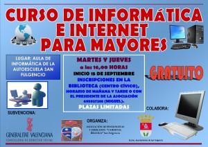 Curso de Informática e Internet para mayores.