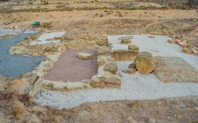 El yacimiento arqueológico de La Escuera
