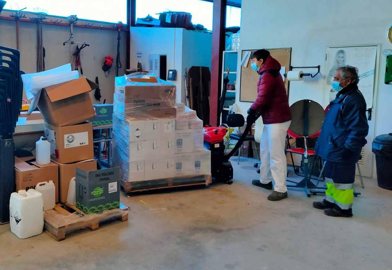 El Ayuntamiento de San Fulgencio compra más material sanitario y de limpieza para actuar frente al Covid-19