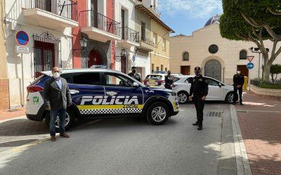 La Policía Local de San Fulgencio evita dos robos en la urbanización Marina y la zona comercial del Sector VIII