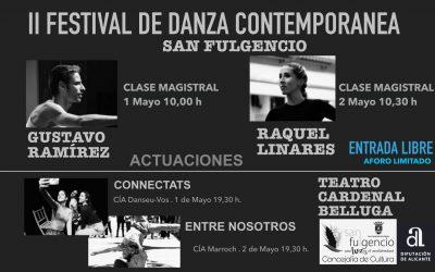 Bailarines de talla internacional se dan cita en el II Festival de Danza Contemporánea de San Fulgencio