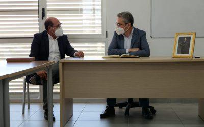 El conseller de Obras Públicas visita las actuaciones de mejora de la movilidad en San Fulgencio