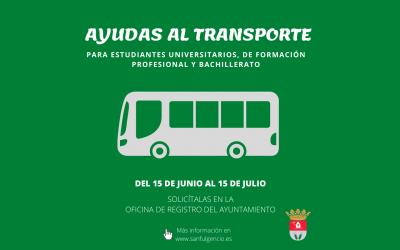 Becas transporte San Fulgencio Curso 2019/2020