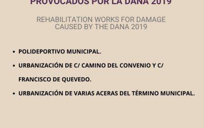 San Fulgencio acomete 8 obras para rehabilitar los daños provocados por la DANA de 2019