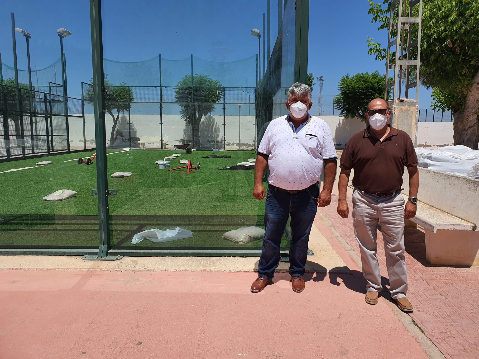 San Fulgencio inicia las obras de rehabilitación en varias zonas del municipio aún dañadas por la DANA