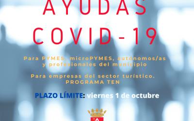 Ayudas para minimizar el impacto del Covid-19 – Septiembre 2021