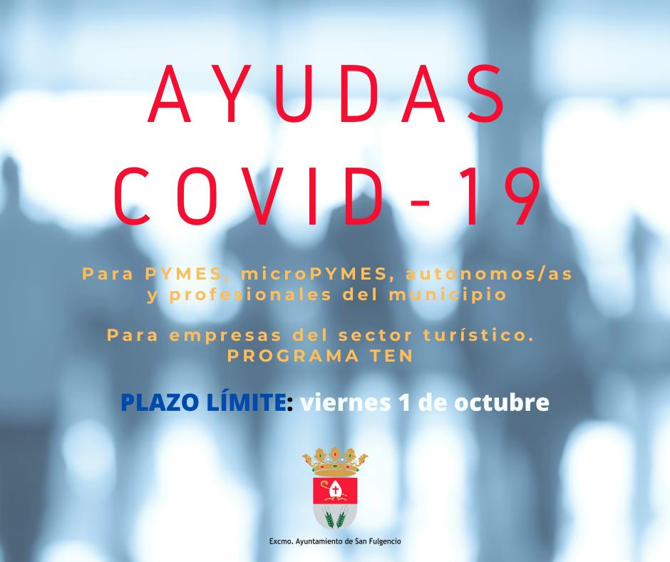 Ayudas para minimizar el impacto del Covid-19 - Septiembre 2021